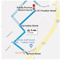 How to find us  WE ARE NOW 101 PINEDALE STREET   (Middlesettlements Road is closed)