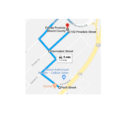 How to find us (Middlesettlements Road is closed)