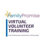 Virtual Volunteer Training!