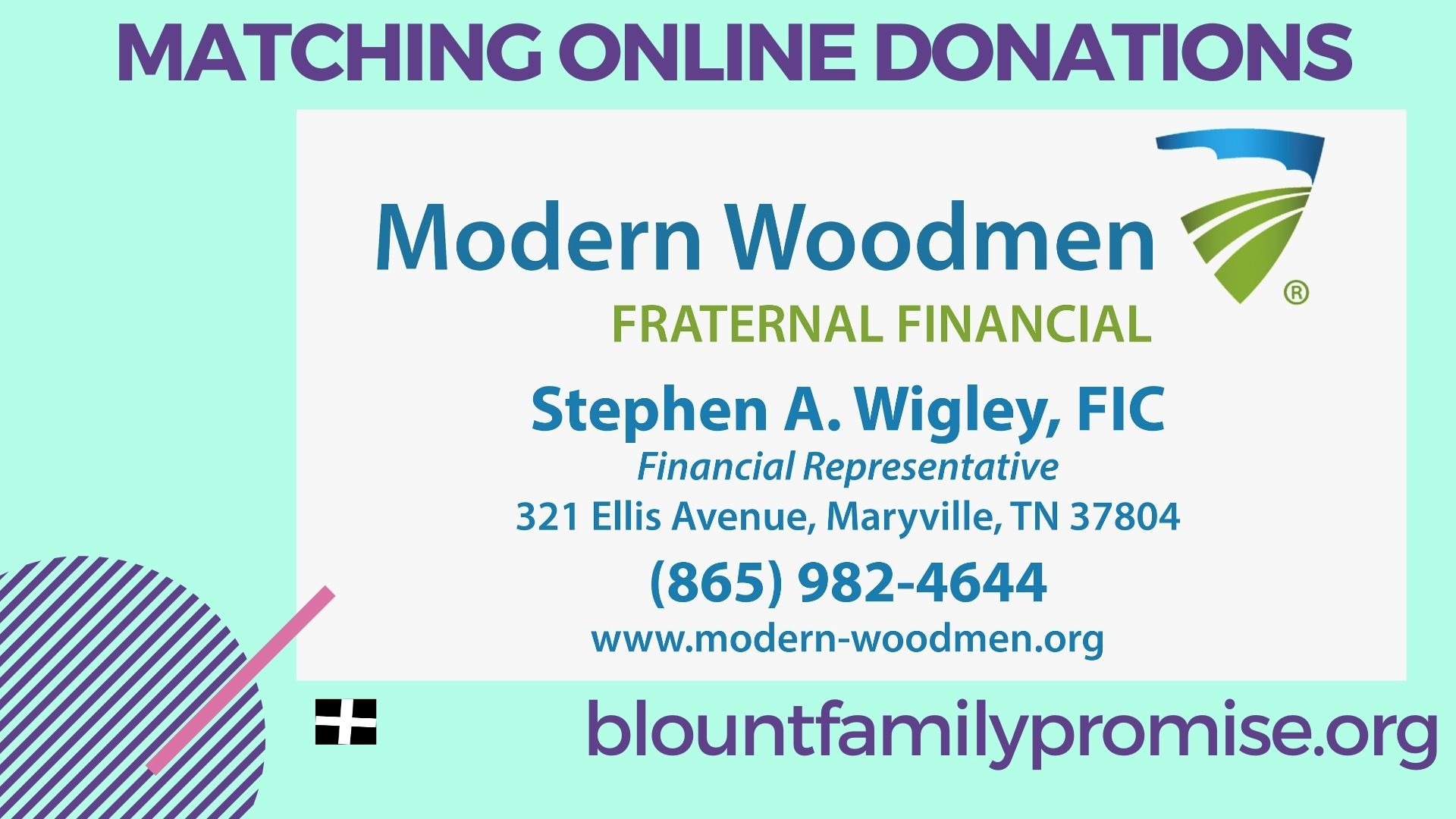 Modern Woodmen is Matching Spooktacular Online Donations!