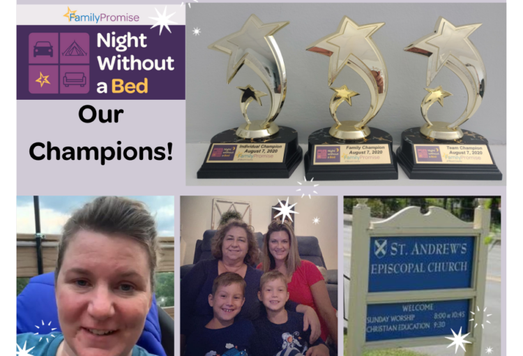 Night Without a Bed Champions!